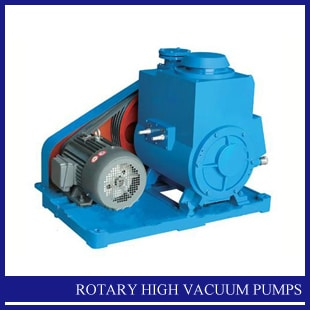 Rotary High Vacuum Pumps India